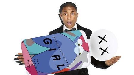 Pharrell Williams irrumpe en el mundo de la perfumería con GIRL