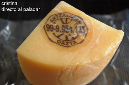 Fusilli con salsa al queso Idiazabal y shiitakes