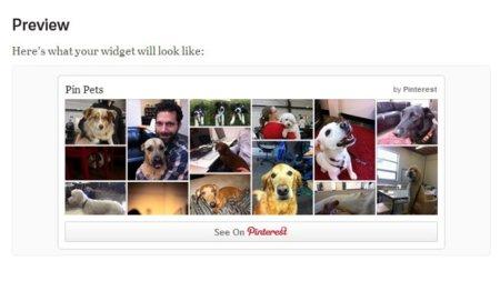 Widgets de Pinterest
