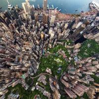 23 alucinantes imágenes cenitales de 23 ciudades del mundo