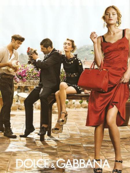 Catherine McNeil Dolce Gabbana 2014