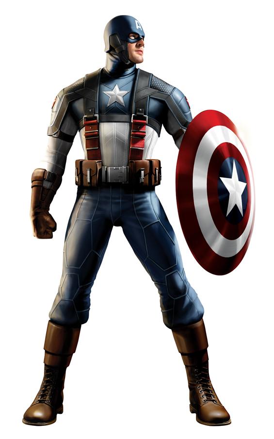 Foto de Capitán América y Thor, diseños de los trajes (5/5)