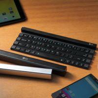 LG Rolly, un teclado para teléfonos y tablets que se puede enrollar