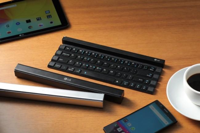 The Lg Rolly Wireless Keyboard