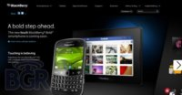 BlackBerry Bold Touch 9900 se deja ver en la web de RIM