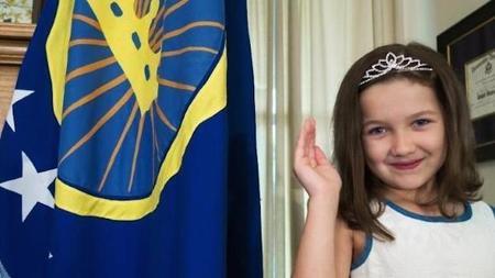 Emily Heaton: la niña que ha conseguido un reino sólo con desear ser princesa