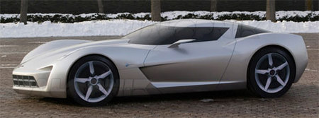 GM Corvette Centennial Design Concept, así se llama el prototipo de 'Transformers 2'