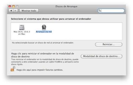 Cómo arrancar un Mac por red para usarlo remotamente