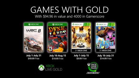 Saints Row 2 y WRC 8 entre los Games With Gold de julio de 2020 para Xbox One y Xbox 360