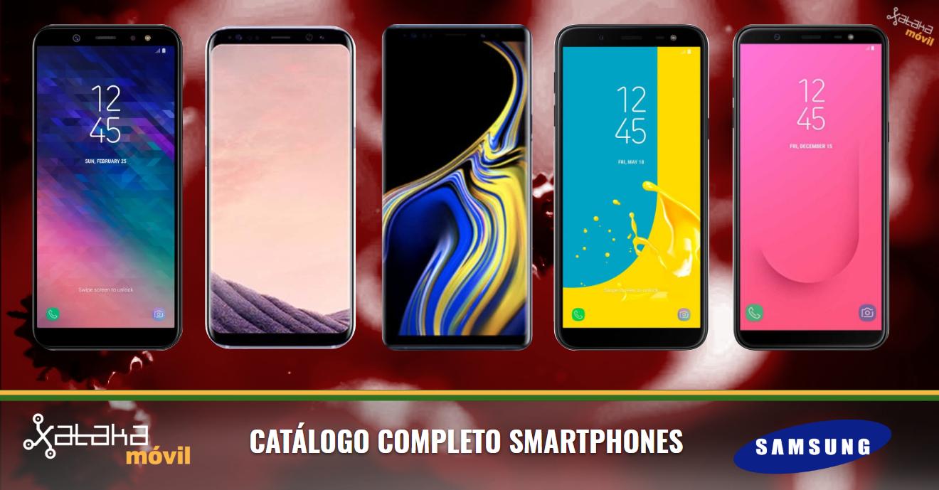 349d0f49121 Catálogo móviles Samsung Galaxy 2018 en agosto de 2018