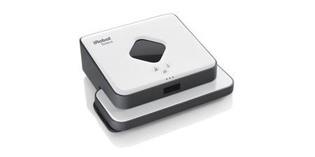 Fregar el suelo de casa nunca supuso tan poco esfuerzo ni físico, ni económico: Amazon te deja hoy el robot friegasuelos Braava 390T de iRobot por sólo 189,99 euros