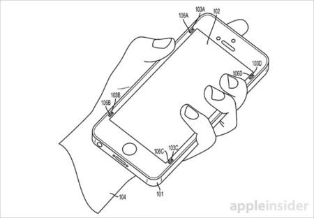 """¿Un """"airbag metálico"""" para los iPhone? Una nueva patente de Apple lo describe"""
