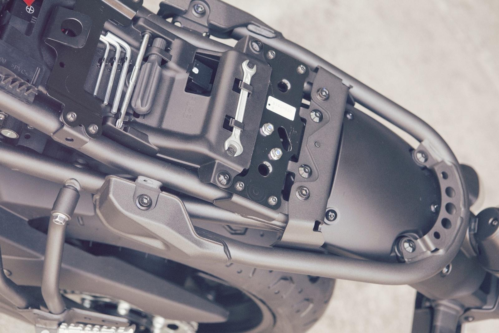 Foto de Yamaha XSR700 en acción y detalles (24/41)