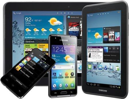 Samsung anuncia los precios y disponibilidad de la gama Galaxy para este 2012