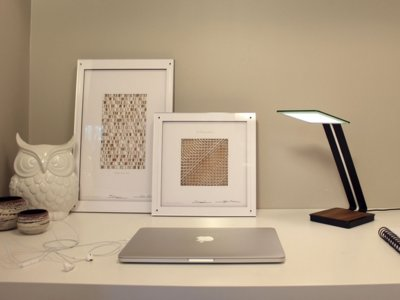 Esta lámpara de diseño puede cargar tu móvil de forma inalámbrica