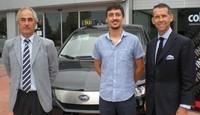 Ya recorre las calles el primer BYD e6 de taxi en España