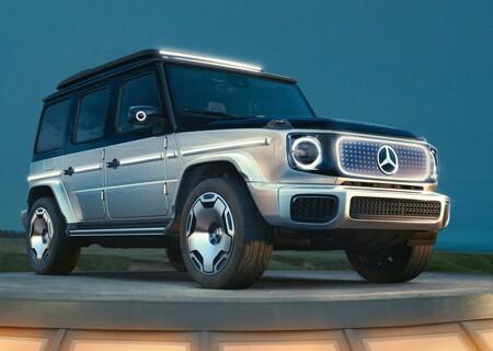 Mercedes-Benz EQG: el formato eléctrico llega al único SUV a prueba del tiempo