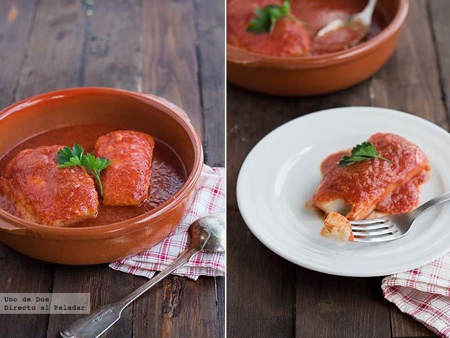 Cómo hacer bacalao en salsa vizcaína. Receta de Semana Santa