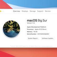 macOS Big Sur 11.0: Apple dice adiós a casi dos décadas de Mac OS X