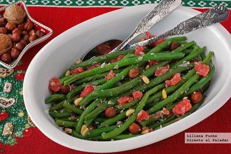 Verduras en Navidad