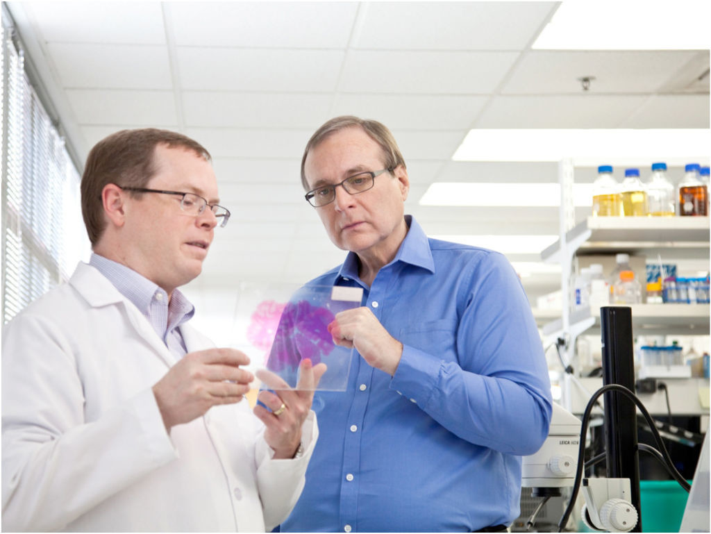 Paul G Allen At Allen Institute For Brain Science