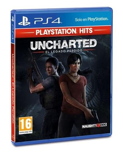 Uncharted El legado perdido Hits PS4