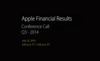 Apple revelará el próximo 22 de julio los resultados de su tercer trimestre fiscal de 2014