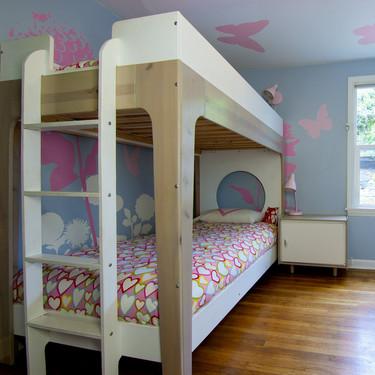 15 habitaciones infantiles con literas que te encantarán