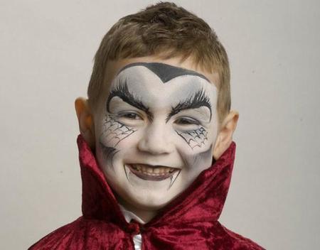 DIY: pinta caras de Halloween en sencillos pasos