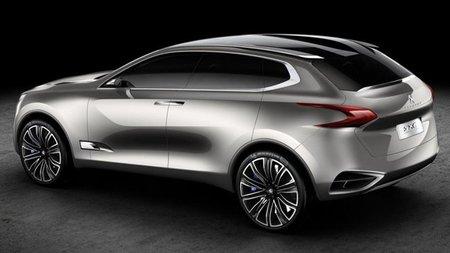Peugeot SxC Crossover Concept, desvelado antes de Shangai