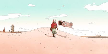 Sable nos vuelve a deslumbrar con su nuevo gameplay: mundo abierto, motos aéreas y un apartado visual precioso