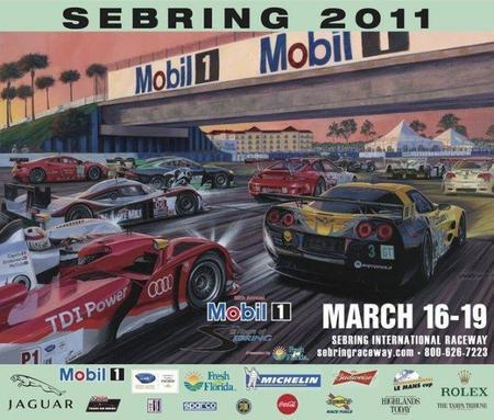 12 horas de Sebring 2011. Previa