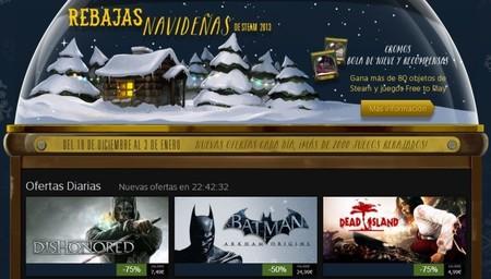 Saca la tarjeta: las rebajas navideñas de Steam ya están aquí