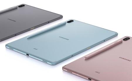 Samsung Galaxy Tab S6: la nueva tablet de gama alta también tiene lector de huellas bajo la pantalla