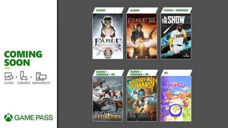 Fable Anniversary y Destroy All Humans! entre los juegos que se unirán a Xbox Game Pass en la segunda quincena de abril