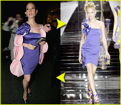 Foto de famosas alta costura paris 2008 (11/11)