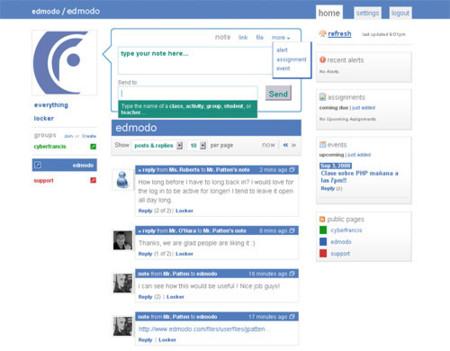 Ping.fm y Edmodo abren sus puertas