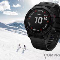 MediaMarkt y Amazon te dejan un completísimo reloj deportivo con una enorme autonomía como el Garmin Fenix 6X Pro por 519 euros