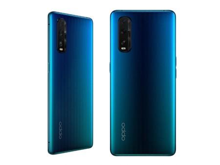 Oppo Find X2 Ocean Blue Cristal