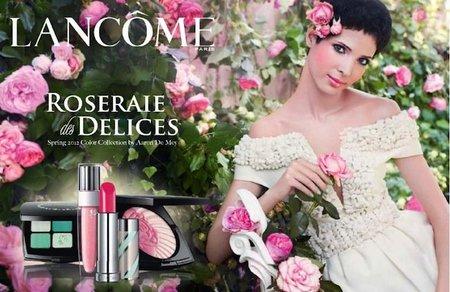 """La nueva colección 2012 de Lancôme se llama """"Roseraie des Delices"""""""