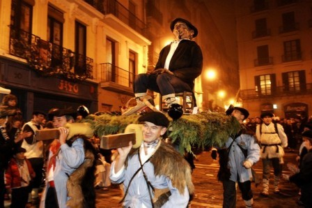 Olentzero, el personaje navideño del País Vasco