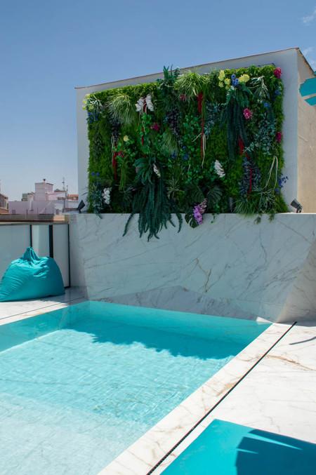 Ático con piscina Madrid