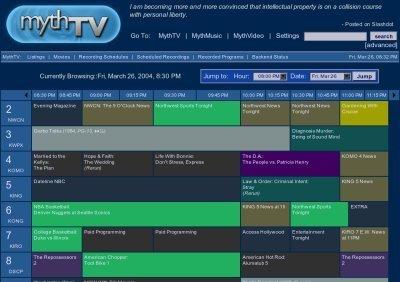Crea tu propio TiVo con TVInfo, MythTV y tu ordenador