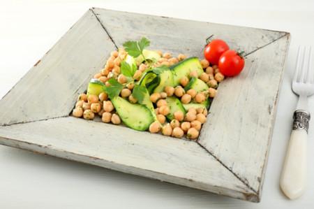Recetas de legumbres, sanas y deliciosas en ensaladas