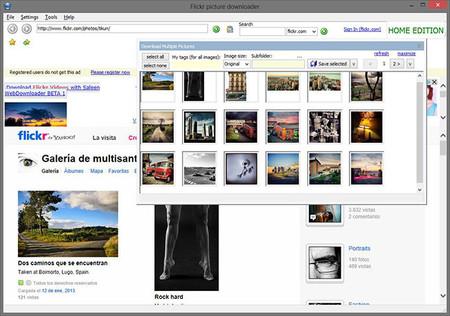 Saleen Flickr Downloader