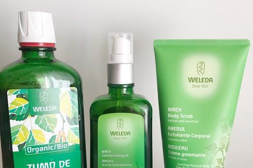 Probamos el tratamiento integral contra la celulitis en tres pasos de Weleda con el que completar la operación bikini