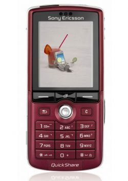 Sony K750i edición limitada en color rojo