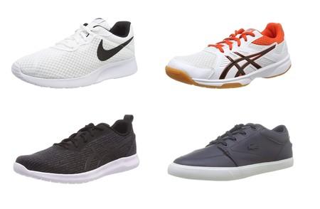 Chollos en tallas sueltas de zapatillas Asics, Adidas, Lacoste o Nike en Amazon