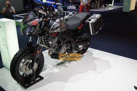 Suzuki Urban X-Over, moto de exhibición presentada en Frankfurt