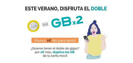 El doble de gigas por 1 euro al mes: así es la promoción de PTV Telecom para este verano
